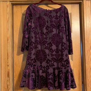 Vince Camuto Purple Dress